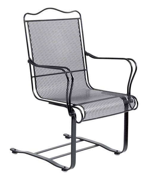 sc 1 st  Trees n Trends & Woodard Tucson Outdoor High Back Spring Base Chair