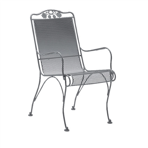 - Woodard Briarwood Outdoor High Back Dining Arm Chair