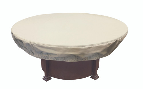"""Treasure Garden 48"""" - 54"""" Round Chat Table or Fire Pit Protective Cover"""