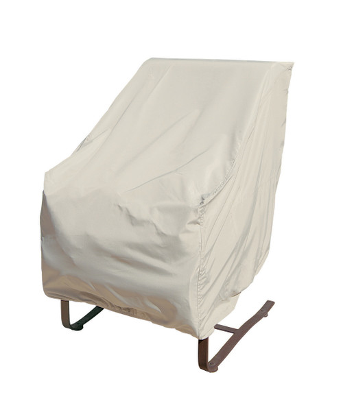 """Treasure Garden 27"""" High Back Chair w/Elastic Protective Furniture Cover"""