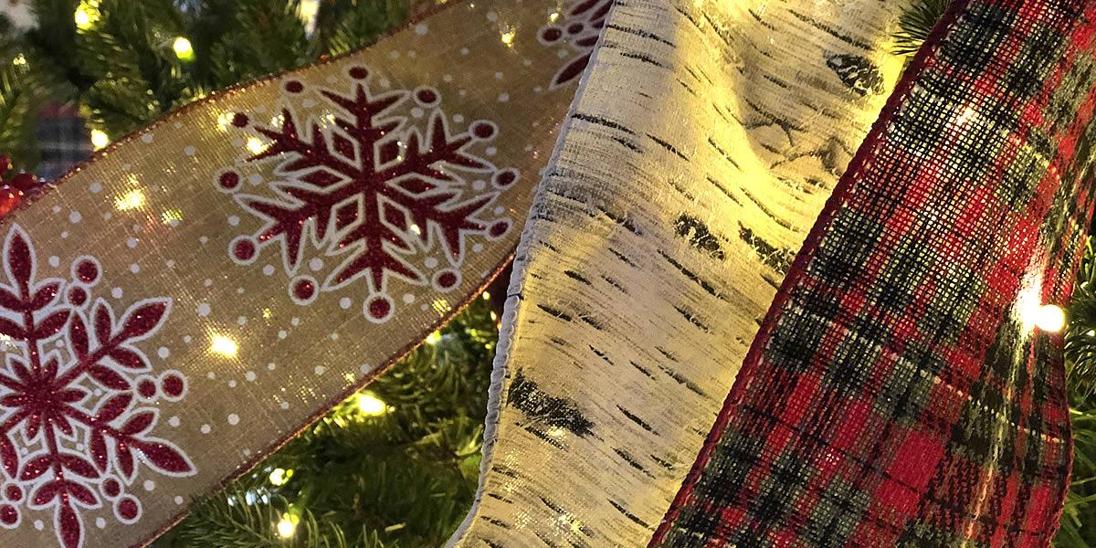 Designer Christmas Ribbon