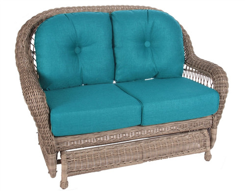 Erwin And Sons St John Outdoor Double Glider In Driftwood
