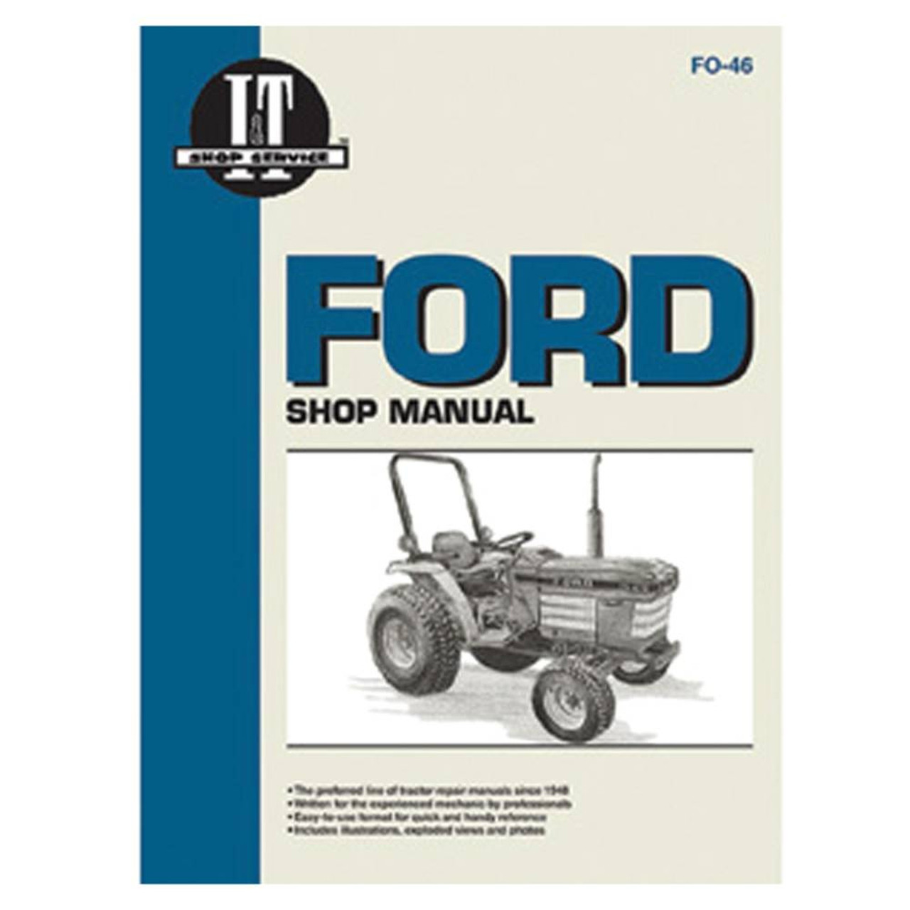 Service Manual Ford New Holland Tractor Fo-46 1120 1220 1320 1520 1720 1920 2120