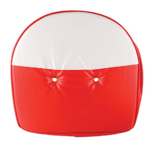 Seat Cushion, Red and White 21 Inch For Universal Products T295RW