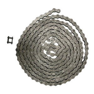"NEW Roller Chain Rivet Type (10ft) 41 Size Pitch-0.500"" Width-0.251"" 240 Links"