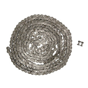 "NEW Roller Chain Rivet Type (10ft) 35 Size Pitch-0.375"" Width-0.188"" 320 Links"