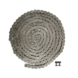 "NEW Roller Chain Rivet Type (10ft) 40 Size Pitch-0.500"" Width-0.313"" 240 Links"