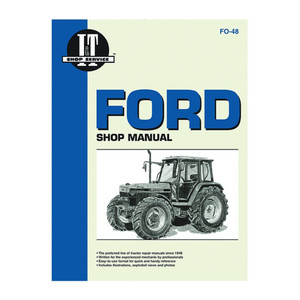 New Service Manual For Ford New Holland Tractor  5640 6640 7740 7840 8240 8340