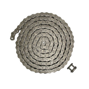 """NEW Roller Chain Rivet Type (10ft) 60H Size Pitch - 0.750"""" Width - 0.500"""""""