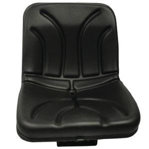 "Tractor Seat Width 15 23/64"", Flip Seat, Fixed base Seat"