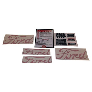 DECAL SET For Ford New Holland NAA