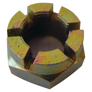 NEW Castle Nut for Ford New Holland Tractor - 387930S36