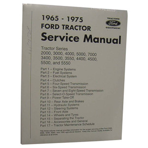 NEW Shop Manual for Ford New Holland Tractor 2000 3000 5000 Others
