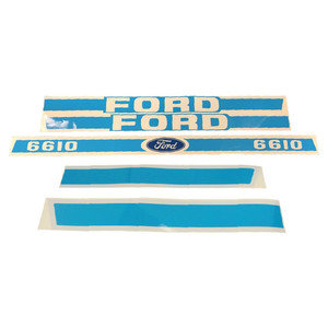 NEW Decal Set for Ford Tractor 6610 Decals