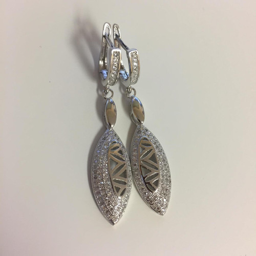 Silver Marquee Earrings