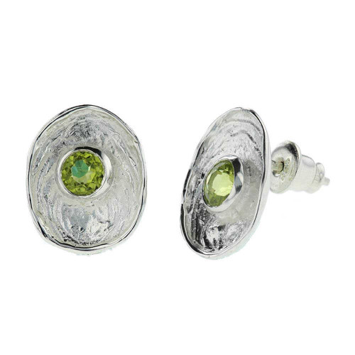 Cosmic Peridot Earrings