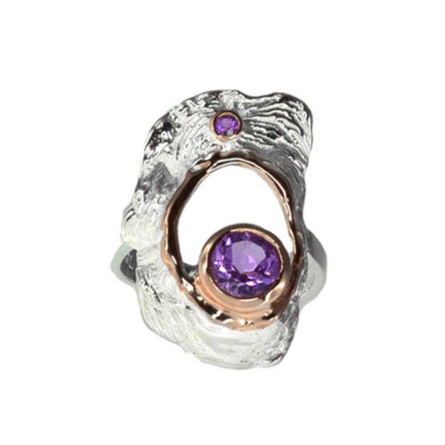 Amethyst Hypnotic Ring