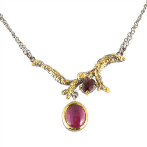 Branch Ruby Necklace
