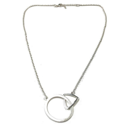 Silver Commitment Necklace
