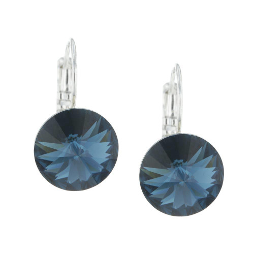 Crystal Blue Montana Earrings