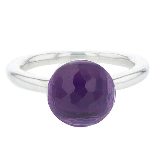 Purple Amethyst Mademoiselle Ring