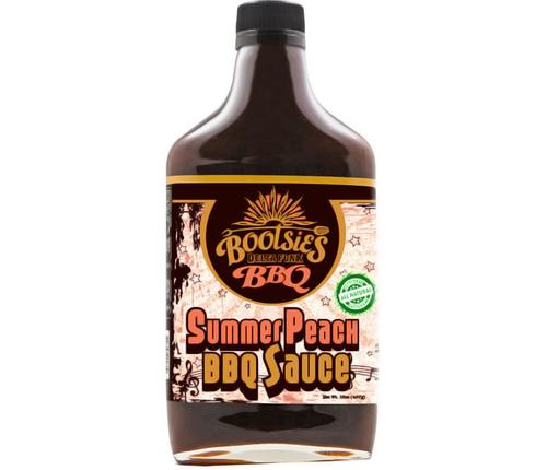 Bootsies Summer Peach BBQ Sauce