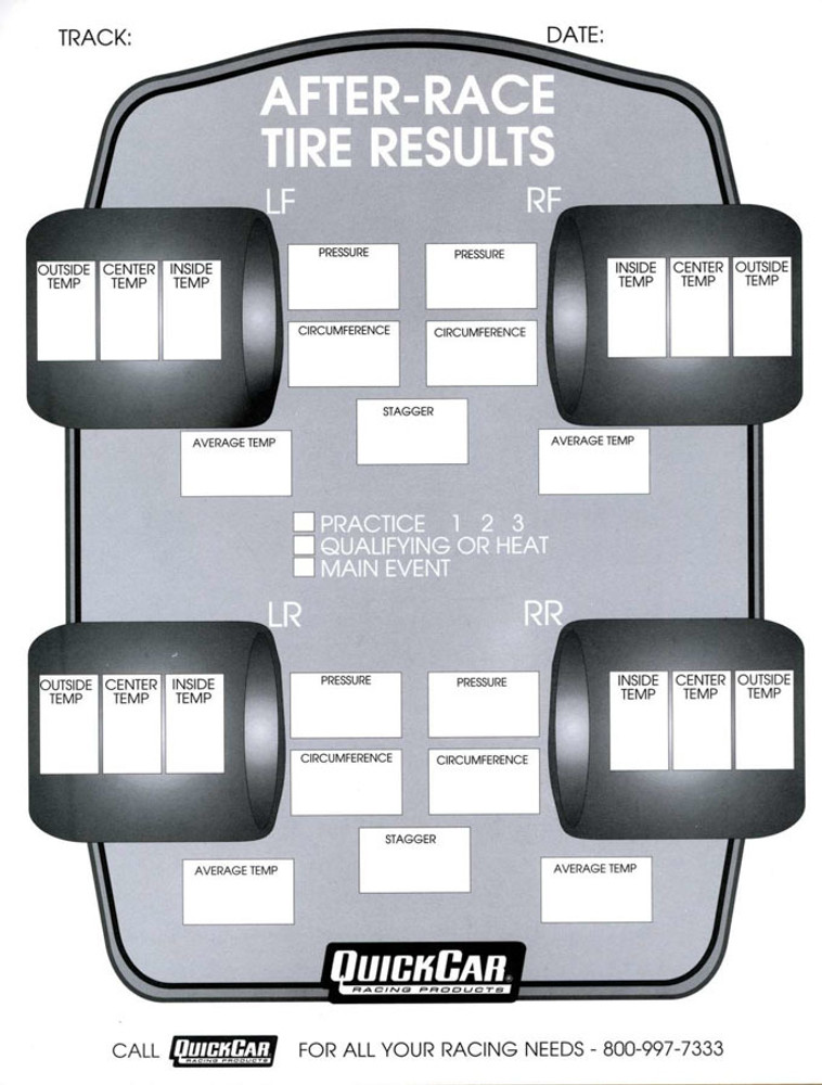 Tire Setup Sheets Related Keywords & Suggestions - Tire