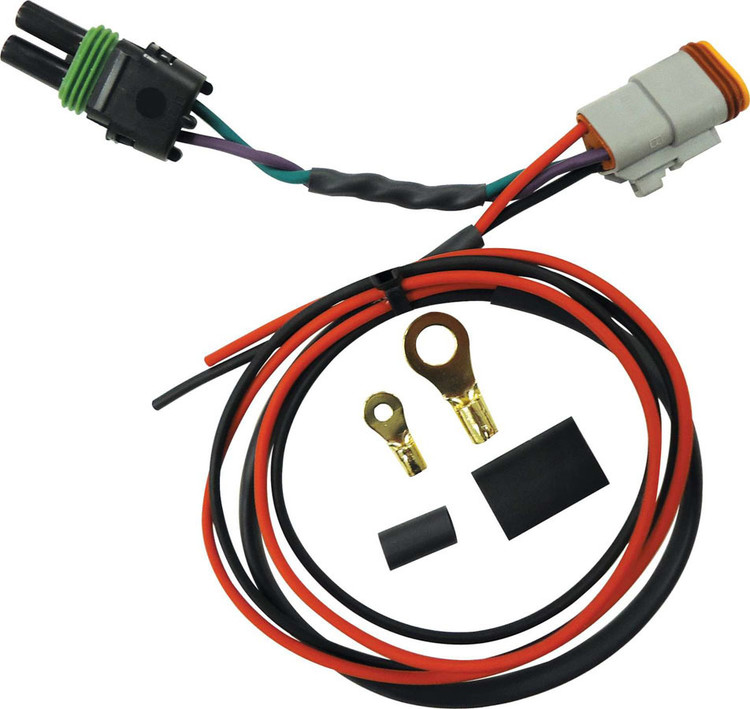 Wiring Harness - 2 Pin Deutsch to 2 Pin Weatherpack - Quickcar Harness/Crane Distributor - Each