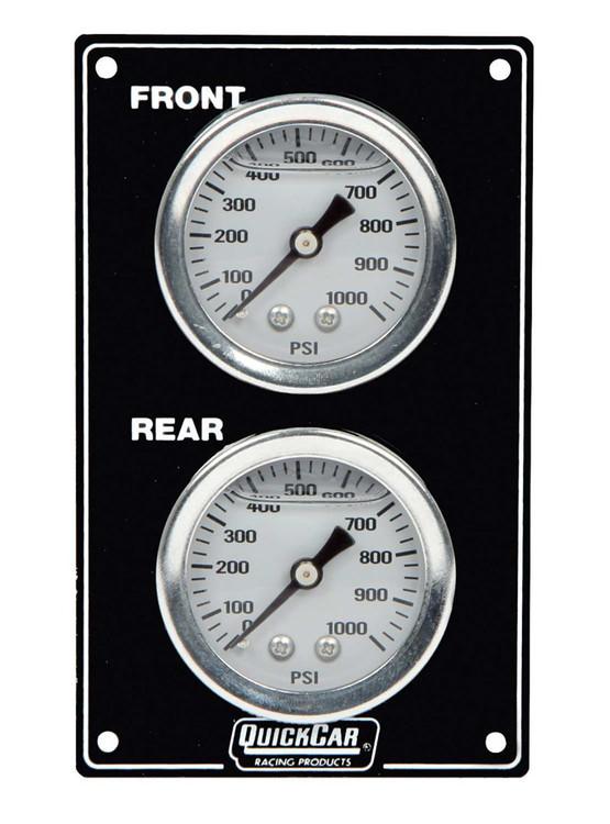Mini Brake Biasa Gauge Panel Vertical Black 61-105