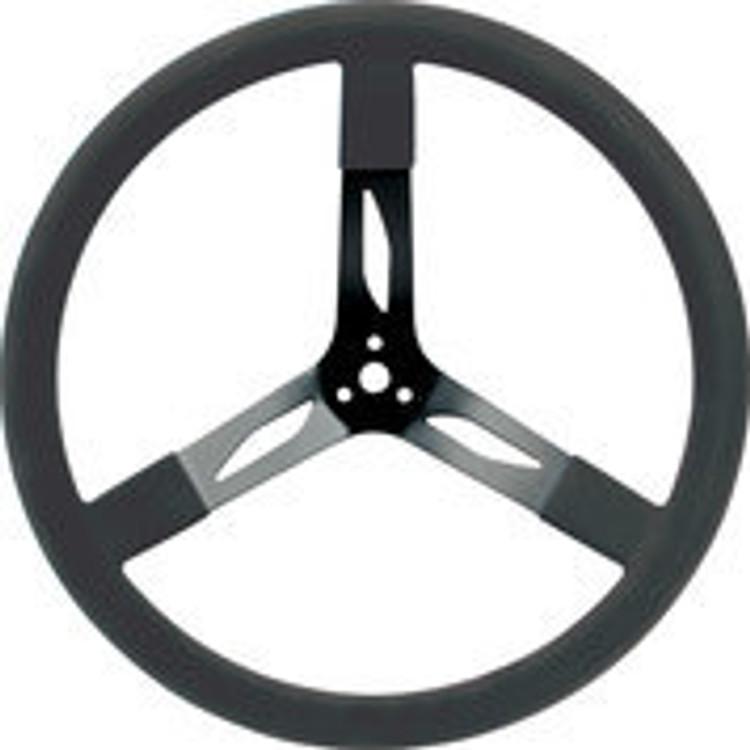 68-004  -  Steering Wheel - 17 in Diameter - 3 Spoke - Steel - Black - Each
