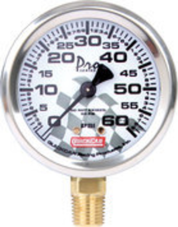 56-006 - Tire Pressure Gauge Head - 0-60 psi - Quickcar Tire Pressure Gauges - Each