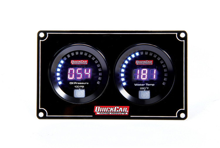 67-2001 Digital 2-Gauge Panel OP/WT