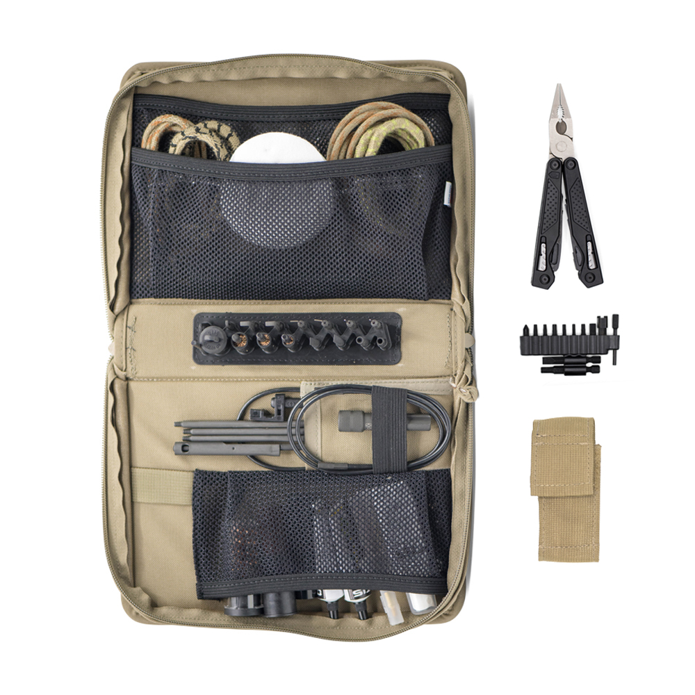 T-Mod+ Cleaning Kit with AR Multi-Tool (7.62mm, 9mm, 12ga)
