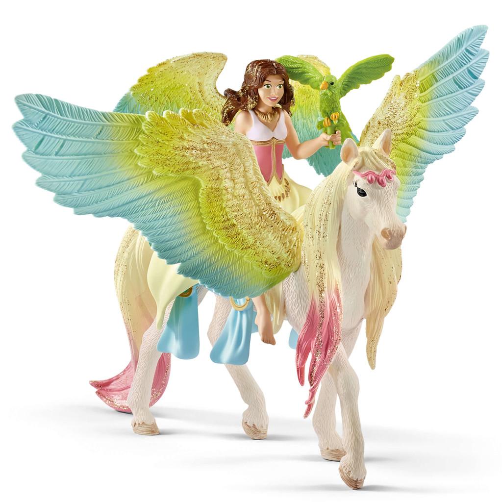 Surah with Glitter Unicorn