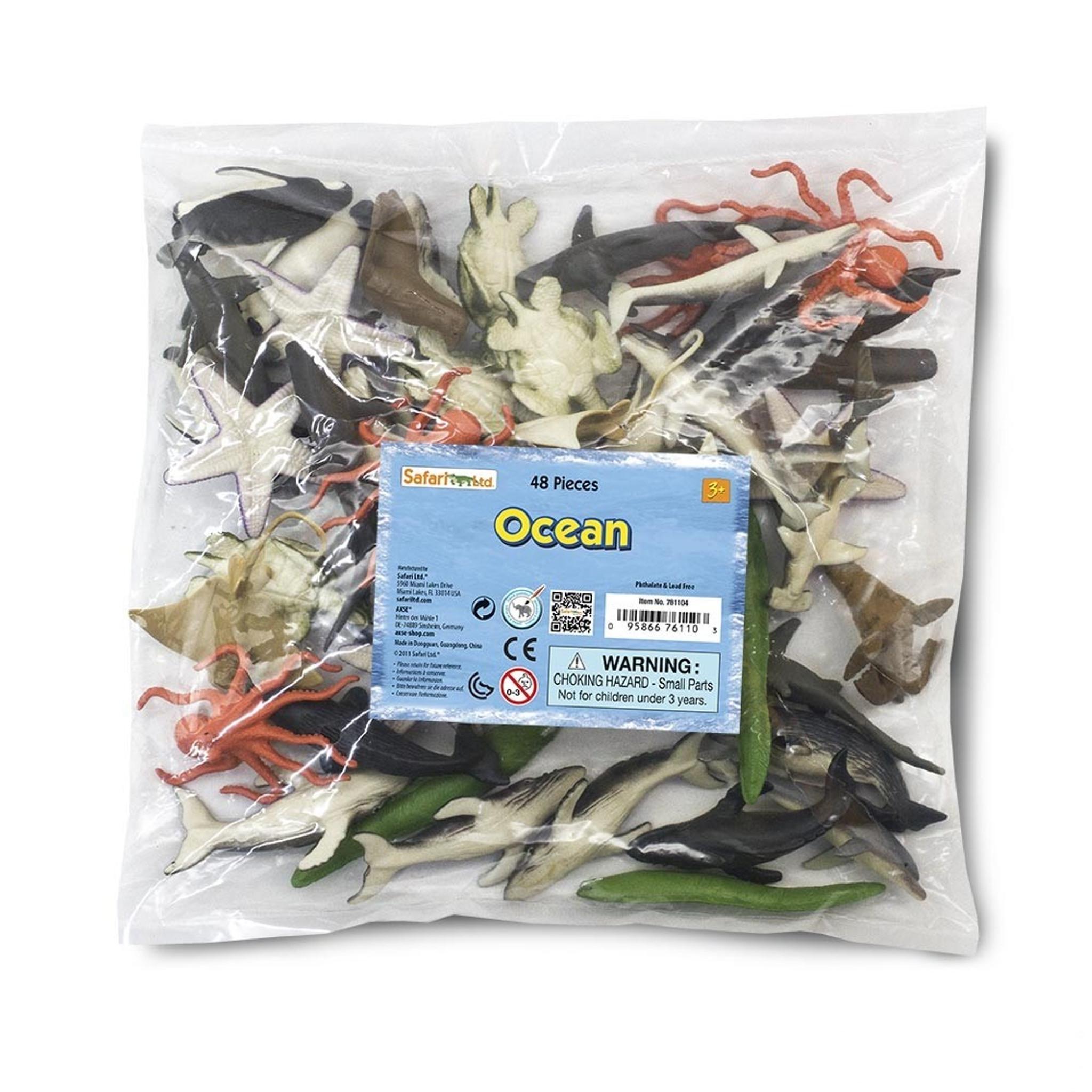 Avatar 2 Oceans: Safari Ltd Sea Life Bulk Bag 761104