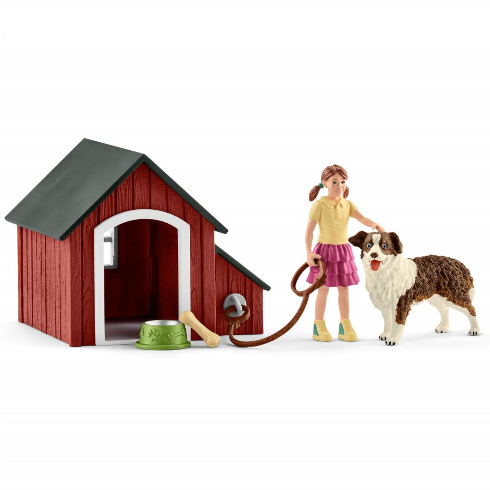 Schleich Dog Kennel Set 42376 | Schleich Farm World