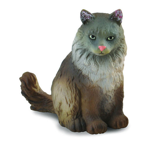 Norwegian Forest Cat Sitting CollectA