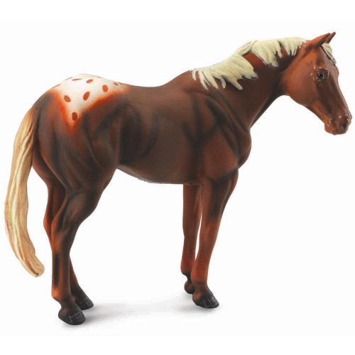 Appaloosa Stallion Chestnut CollectA