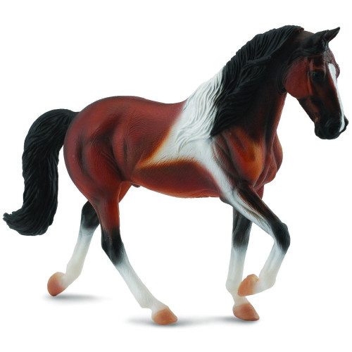 Tennessee Walking Stallion Bay Pinto CollectA