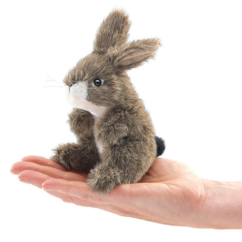 Jack Rabbit Finger Puppet
