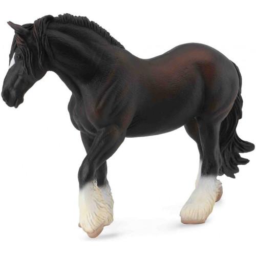 Shire Horse Mare Black CollectA