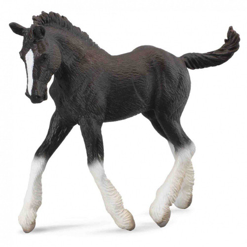 Shire Horse Foal Black CollectA