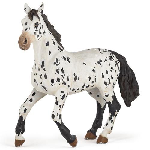 Appaloosa Horse Black Papo