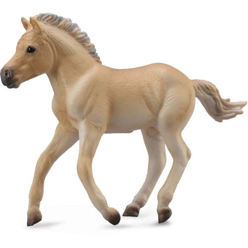 Fjord Foal Brown Dun CollectA