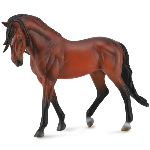 Andalusian Stallion Bright Bay Deluxe Scale