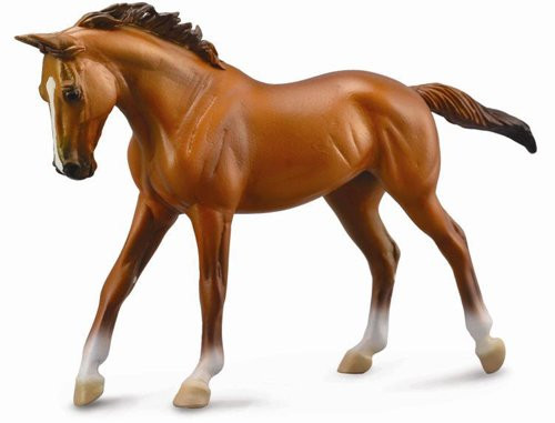 Thoroughbred Mare Chestnut Deluxe Scale