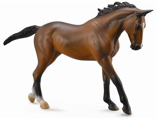 Thoroughbred Mare Bay Deluxe Scale