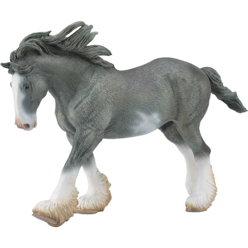 Clydesdale Stallion Black Sabino CollectA