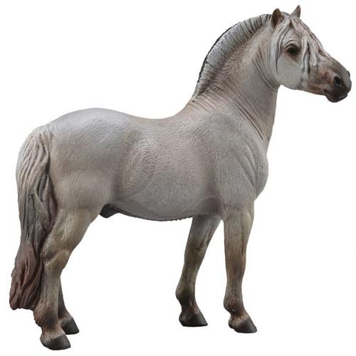 Fjord Stallion Silver Grey CollectA