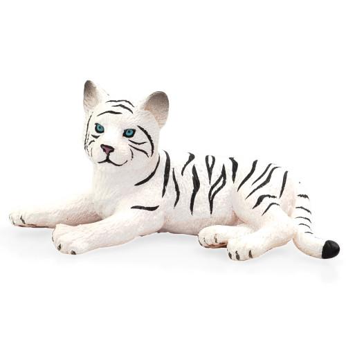 White Tiger Cub Lying Mojo